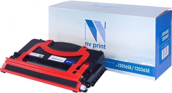 Картридж совместимый NVPrint 12016SE/12036SE для Lexmark