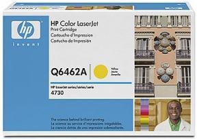 Картридж HP Q6462А желтый оригинальный