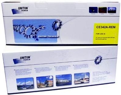 Картридж совместимый UNITON Premium CE342A (651A) желтый для HP