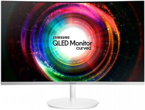 """Монитор 31.5"""" Samsung C32H711QEI White Сurved"""