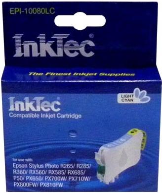 Картридж совместимый InkTec T0805 светло синий для Epson