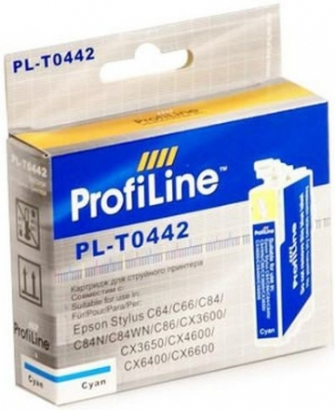 Картридж совместимый ProfiLine 0442 для Epson голубой