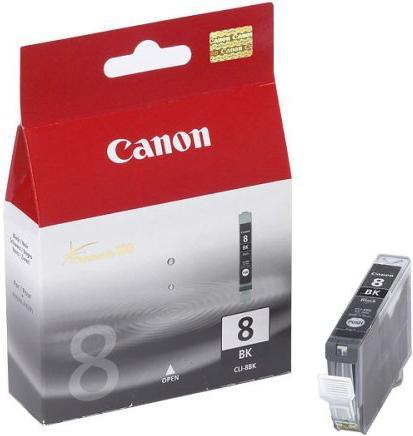 Картридж CANON CLI-8BK черный оригинальный