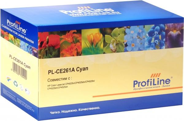 Картридж совместимый ProfiLine CE261A для HP