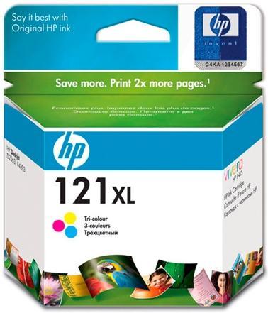 Картридж HP CC644HE трехцветный оригинал