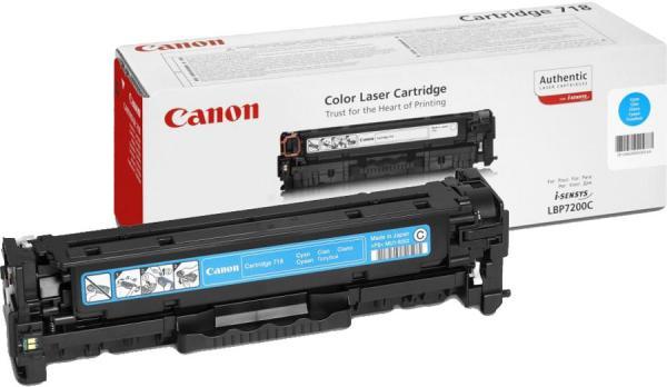 Картридж Canon 718C голубой совместимый NV Print