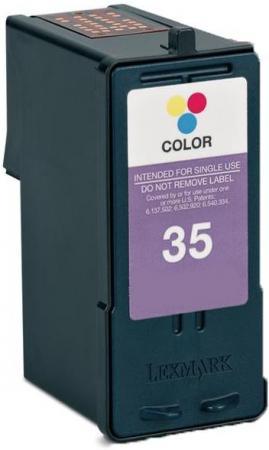 Картридж совместимый 18C0035 трехцветный для Lexmark