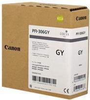 Картридж CANON PFI-306GY серый оригинальный