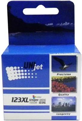 Картридж совместимый Unijet F6V18AE (123XL) цветной для HP