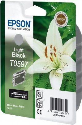 Картридж EPSON T059740 серый оригинальный