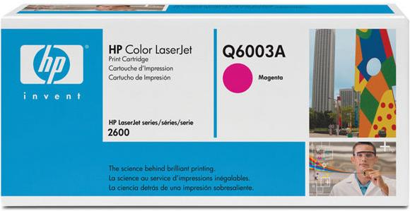 Картридж HP Q6003A пурпурный оригинал
