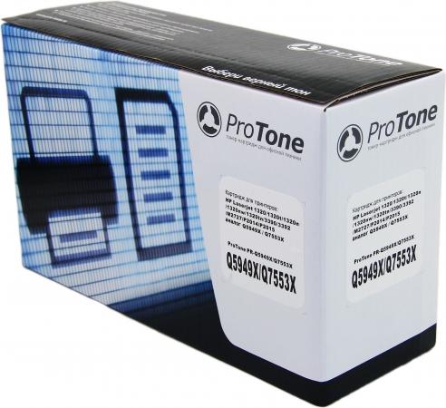 Картридж HP Q7553X, Q5949X черный совместимый ProTone