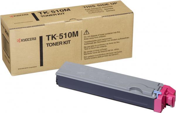 Картридж Kyocera TK-510M пурпурный оригинальный