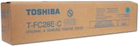 Картридж TOSHIBA T-FC28EC (6AJ00000046) голубой оригинальный