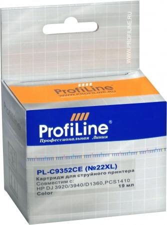 Картридж совместимый ProfiLine C9352CE №22XL для HP Color