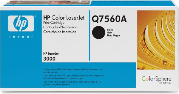 Картридж HP Q7560A черный оригинал