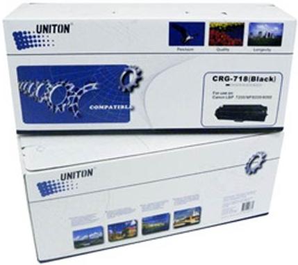 Картридж совместимый UNITON Premium Cartridge 718Bk черный для CANON