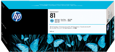 Картридж HP C4934A светло-голубой оригинал
