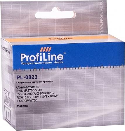 Картридж совместимый ProfiLine 0823 для Epson пурпурный