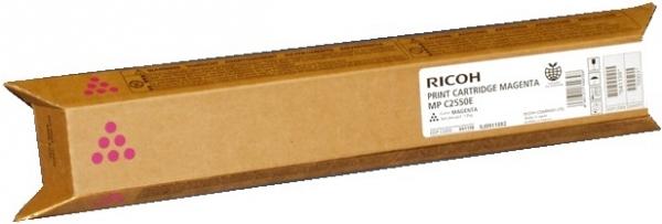 Тонер-картридж MPC2550E для Ricoh малиновый