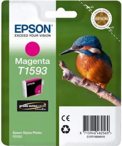 Картридж Epson C13T15934010 пурпурный оригинальный