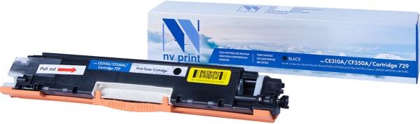 Картридж совместимый NVPrint CE310A/CF350A/Canon 729 для HP и Canon черный