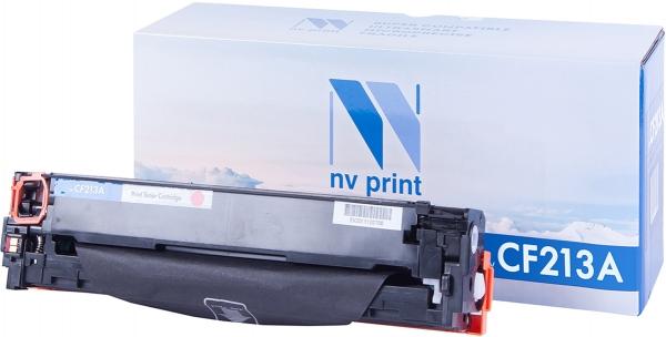 Картридж совместимый NVPrint CF213A для HP пурпурный