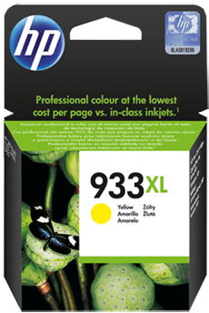 Картридж HP CN056AE желтый оригинальный