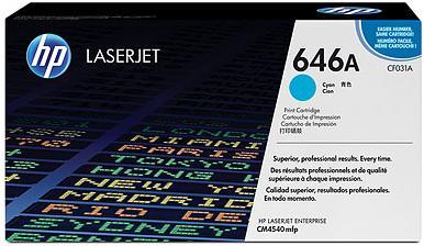 Картридж HP CF031A голубой совместимый NV Print