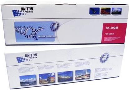 Картридж совместимый UNITON Premium TK-590M красный для Kyocera