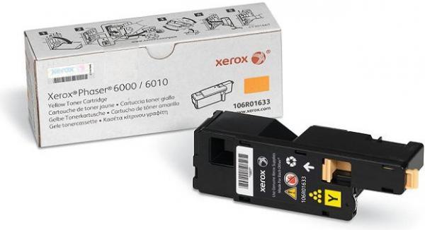 Картридж XEROX 106R01633 желтый оригинальный