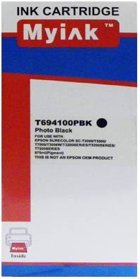 Картридж совместимый MyInk T6941 черный для Epson