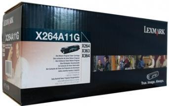 Картридж Lexmark X264A11G черный оригинал