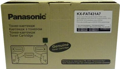 Картридж Panasonic KX-FAT431A7 оригинальный