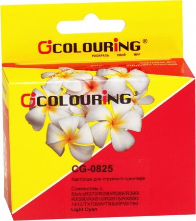 Картридж совместимый Colouring 0825 для Epson светло-голубой