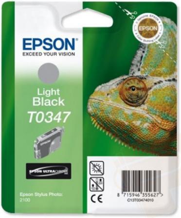 Картридж EPSON T034740 серый оригинальный