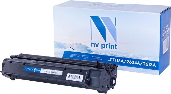 Картридж совместимый NVP C7115A/2624A черный для HP