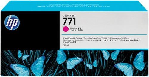 Картридж HP № 771 пурпурный оригинальный