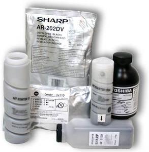 Девелопер SHARP AR-163, 201, 206, M160, M205, 5316, 5320, 5015, 5120 (пак.400) AR-202DV (o)