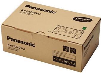 Тонер картридж Panasonic KX-FA403A7 оригинальный