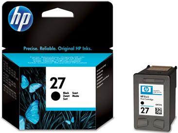 Картридж HP № 27 (C8727AE) чёрный (оригинальный)