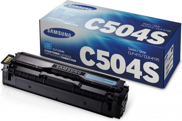 Картридж Samsung C504S/SEE голубой оригинальный