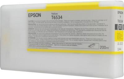 Картридж EPSON C13T653400 для Stylus Pro 4900 желтый оригинальный