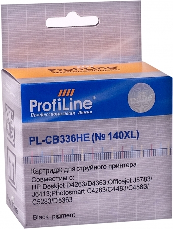 Картридж совместимый ProfiLine CB336HE №140XL для HP