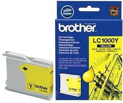 Картридж Brother 1000Y желтый совместимый Unijet