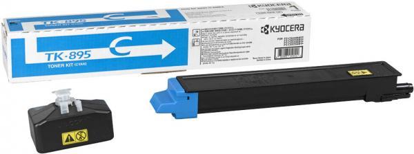 Картридж Kyocera TK-895C голубой оригинальный