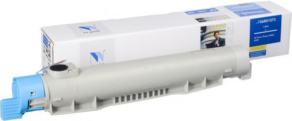 Тонер-картридж Xerox 106R01073 голубой совместимый NV Print