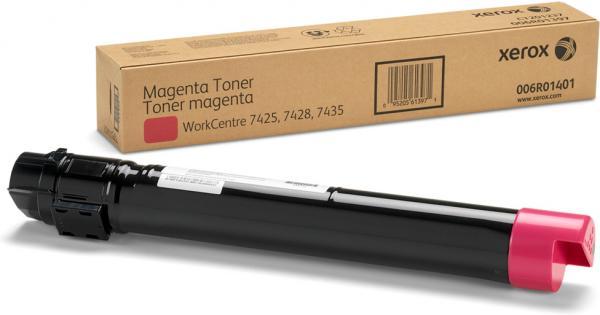 Тонер-картридж XEROX 006R01401 пурпурный DIL оригинальный для WC 74xx