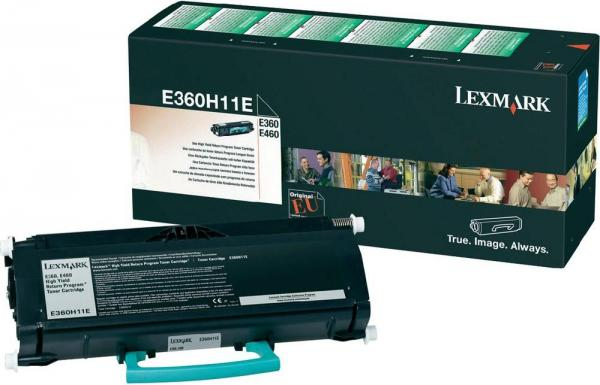 Картридж Lexmark E360H11E черный оригинальный
