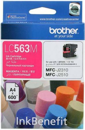 Картридж Brother LC563M пурпурный оригинальный